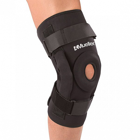 Наколенник MUELLER Pro Level Hinged Knee Brace Deluxe B5333 черный